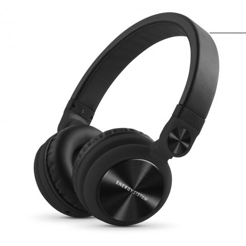 ENERGY SISTEM Ενσύρματα Ακουστικά DJ2 MIC Μαύρο 425877