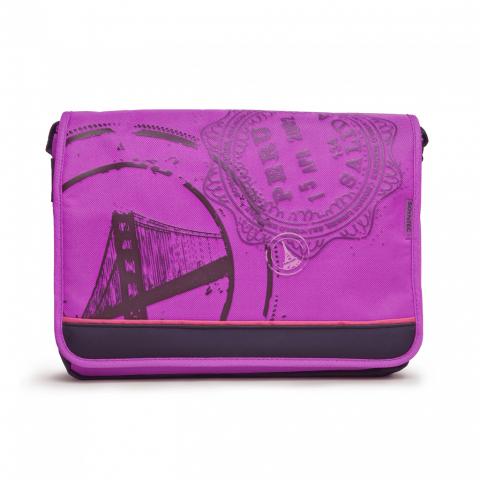 Soyntec Τσάντα για Netbook 12.1 inch Μωβ TRAVELLER100P 775637