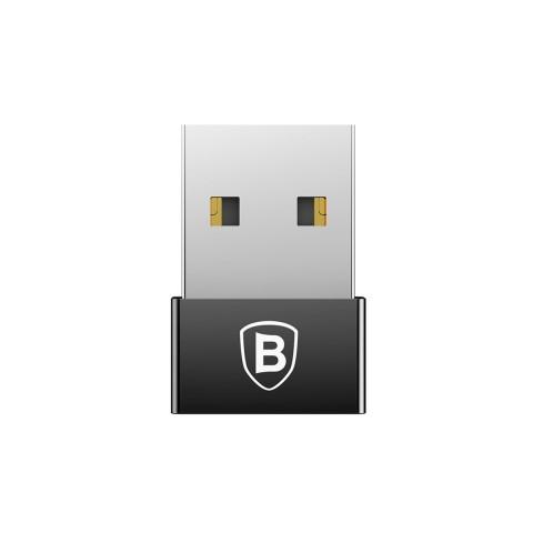 Baseus Αντάπτορας Type-C Σε USB Male Μαύρο Baseus CATJQ-A01