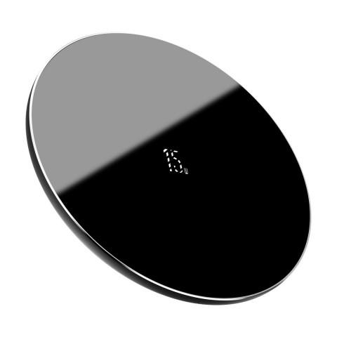 Baseus Wireless Charging Pad (Qi) Μαύρο (Simple 15W)