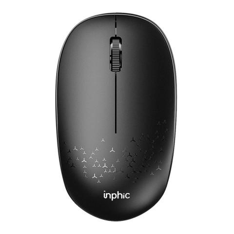 Inphic Aσύρματο Bluetooth Ποντίκι Μαύρο E5B
