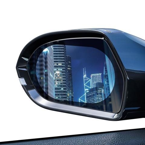 Baseus Αδιάβροχη Αντιθαμβωτική Μεμβράνη για Καθρέφτες Rainproof Film for Car Mirror 2τμχ SGFY-C02