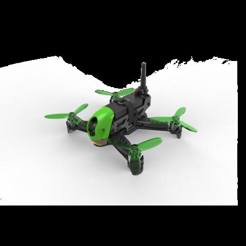 Husban H123DD X4 Jet Arf Flying Drone , 720p Camera - Black/Green ARF NO REMOTE CONTROL (χωρίς χειριστήριο)