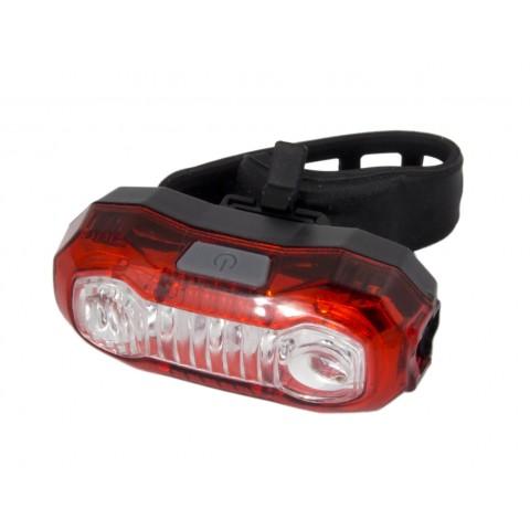 Esperanza Polaris Οπίσθιος Φωτισμός Ποδηλάτου LED Επαναφορτιζόμενο 120 Lumens EOT021