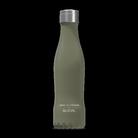 IDEAL OF SWEDEN Active Glacial Bottle Victory Khaki 400ml GLCLBTL-297