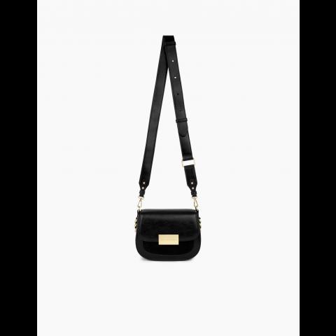 IDEAL OF SWEDEN Ima Saddle Bag Universal Glossy Black IDISBSS21-280