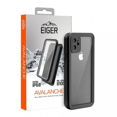 Eiger Avalanche θήκη ολικής προστασίας, αδιάβροχη, για iPhone 11 Black EGCA00217