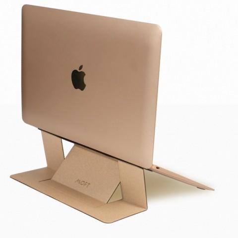 "Allocacoc® MOFT |laptop stand| Αόρατο αναδιπλούμενο laptop stand για φορητούς έως 15,6"" (gold)"