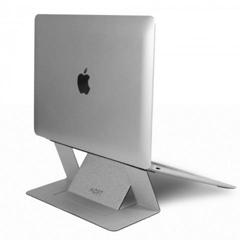 "Allocacoc® MOFT |laptop stand| Αόρατο αναδιπλούμενο laptop stand για φορητούς έως 15,6"" (silver)"