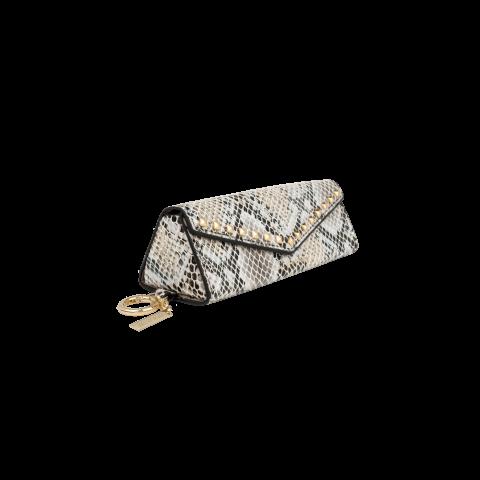 IDEAL OF SWEDEN Sunglass Beige Shimmery Snake IDSCSS21-307