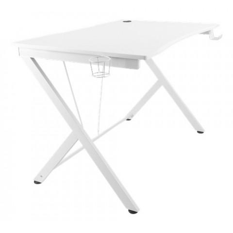 Deltaco Gaming Τραπέζι White Line,white GAM-055-W 116x75x75cm