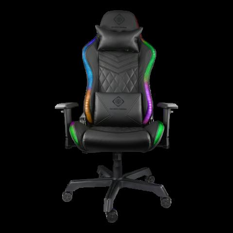 DELTACO Gaming καρέκλα με φωτισμό RGB GAM-080