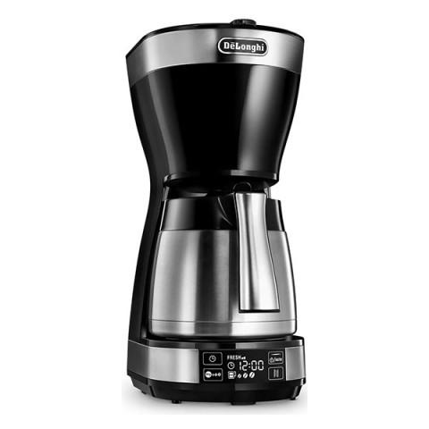 Delonghi Καφετιέρα Φίλτρου 1200W Black ICM16731