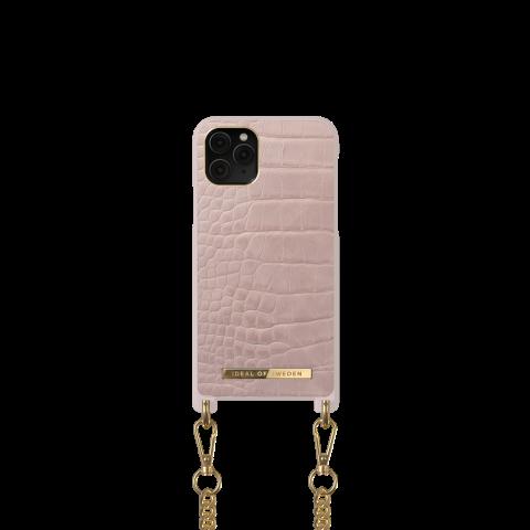 IDEAL OF SWEDEN θήκη λαιμού iPhone 11 Pro/XS/X Misty Rose Croco IDNCSS20-I1958-211