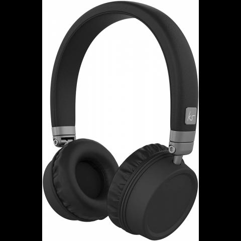 KITSOUND Ακουστικά Κεφαλής HARLEM2 BT με μικρόφωνο KSHAR2BK