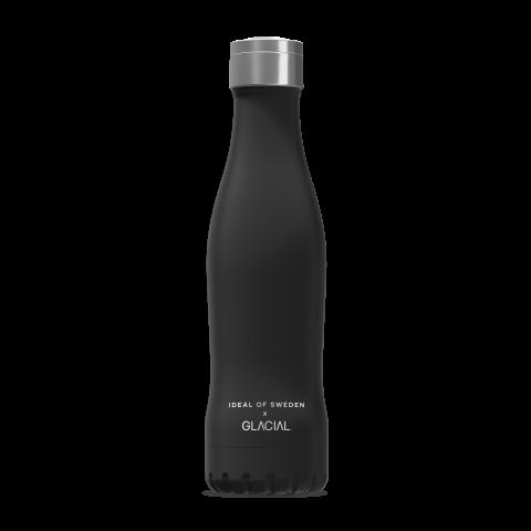 IDEAL OF SWEDEN Active Glacial Bottle Dynamic Black 400ml GLCLBTL-296