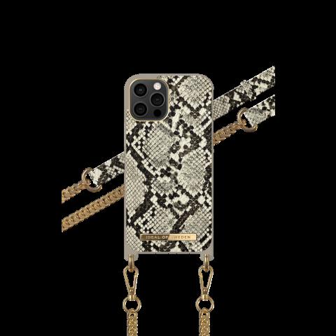 IDEAL OF SWEDEN για το iPhone 12 Pro Max Phone Necklace Case Desert Python IDNCSS20-I2067-203
