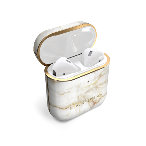 IDEAL OF SWEDEN θήκη για Airpod Golden Pearl Marble IDFAPC-194