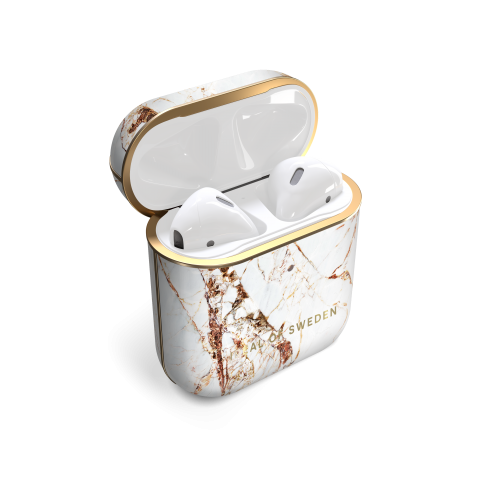 IDEAL OF SWEDEN θήκη για Airpod Carrara Gold IDFAPC-46
