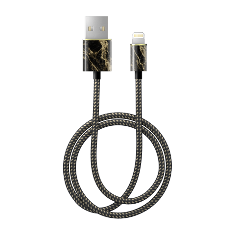 IDEAL OF SWEDEN Fashion Cable Lightning 1m Golden Smoke Marble IDFCL-191