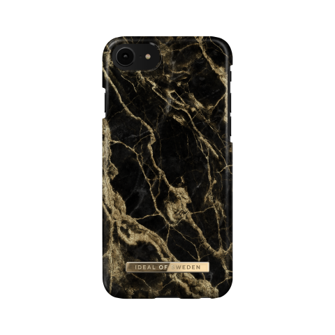 IDEAL OF SWEDEN Θήκη Fashion iPhone 8/7/6/6S Golden Smoke Marble IDFCSS20-I7-191