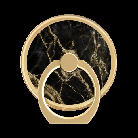 IDEAL OF SWEDEN Magnetic Ring Mount Black Golden Smoke Marble IDMRM-191