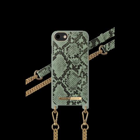 IDEAL OF SWEDEN θήκη λαιμού Khaki Python iPhone 8/7/6/6s/SE IDNCSS20-I7-204