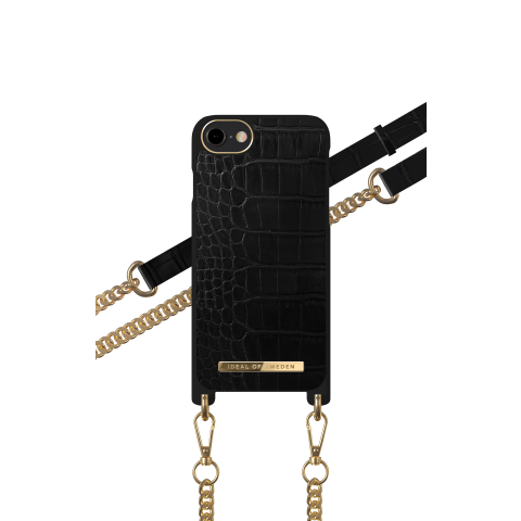 IDEAL OF SWEDEN θήκη λαιμού Jet Black Croco iPhone 8/7/6/6s/SE IDNCSS20-I7-207
