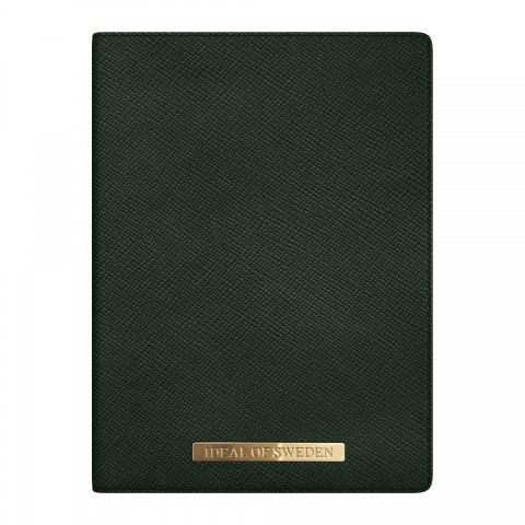 iDEAL Passport Holder Green IDPC-156