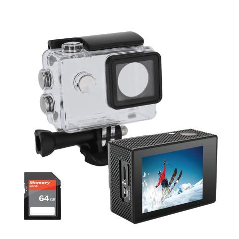iJoy Visionne 4K Action Camera IJACVS01-SC