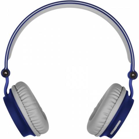 KITSOUND Ακουστικά Κεφαλής METRO BT με Μικρόφωνο Μπλε KSMEBL