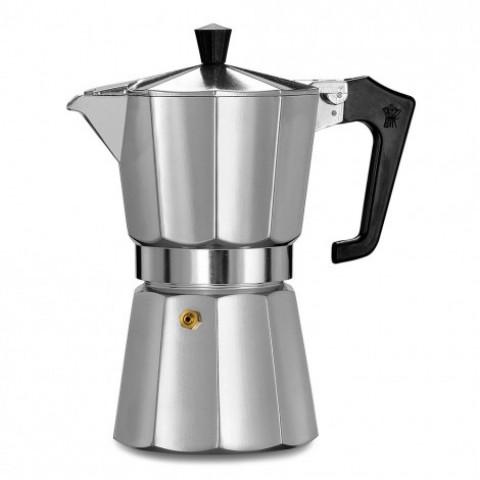 Pezzetti Italexpress Αλουμινίου Καφετιέρα Μόκα Espresso 6 Φλιτζάνια 335ml (χρωμέ)