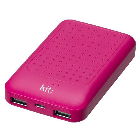 KIT: Essentials Powerbank 6000 mAh Ροζ PWRE6PI