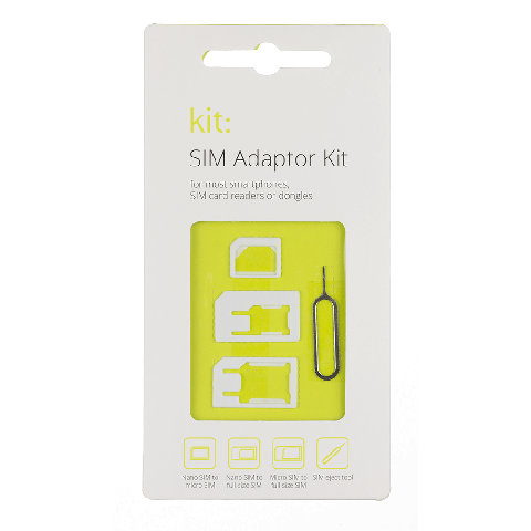 KIT: Sim Card Adaptor Σετ SIMADP