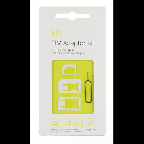 KIT Sim Card Adaptor Σετ SIMADP