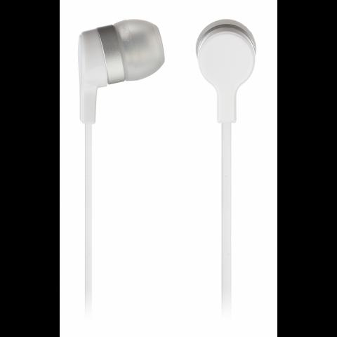 KITSOUND Ακουστικά Ψείρες με Μικρόφωνο Λευκό KSMINIWH