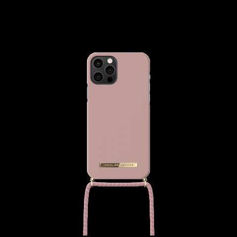 IDEAL OF SWEDEN θήκη λαιμού για iPhone 12/12 Pro Misty Pink IDPNSS21-I2061-265