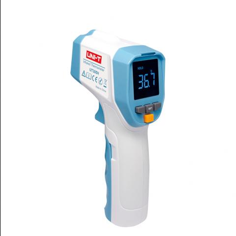 Uni-T Ψηφιακό Θερμόμετρο Μετώπου με Υπέρυθρες Γαλάζιο UT305H
