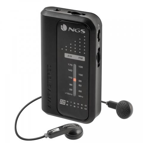 NGS Φορητό ραδιόφωνο AM/FM CODEKNOCK