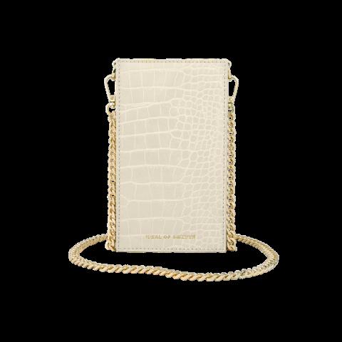 IDEAL OF SWEDEN τσαντάκι Ella Phone Pouch Cream Beige Croco IDPPSS21-275