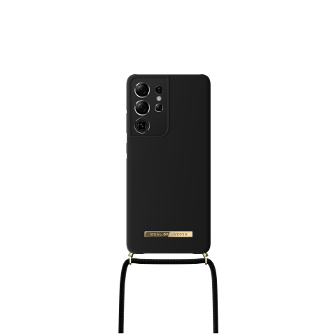 IDEAL OF SWEDEN θήκη λαιμού για Samsung Galaxy S21 Ultra Jet Black IDPNSS21-S21U-267