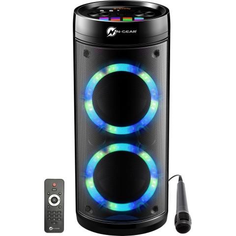 N-Gear αυτοενισχυόμενο Bluetooth ηχείο 600W Karaoke με USB, MicroSD,AUX-IN,μικρόφωνο Lets Go Party 26R
