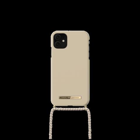 IDEAL OF SWEDEN θήκη λαιμού για iPhone 11/XR Creme Beige IDPNSS21-I1961-299