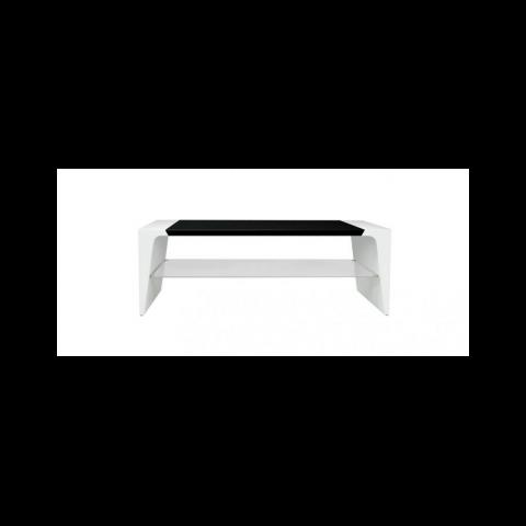 NORSTONE Έπιπλο TV ARKEN1200 Λευκό-Μαύρο NORARK120AWTBKP