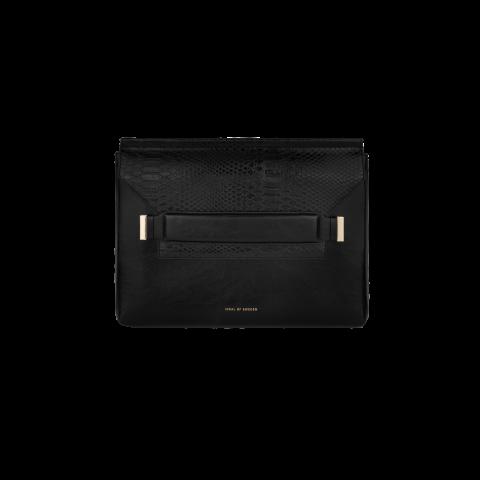 "IDEAL OF SWEDEN June Laptop Sleeve 13"" Glossy Black Snake IDJL13SSS21-281"