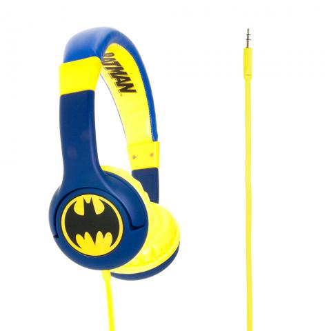 BATMAN DC COMICS Παιδικά Ακουστικά BATMAN JUNIOR -THE CAPED CRUSADER DC0261