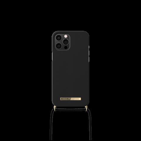 IDEAL OF SWEDEN θήκη λαιμού για iPhone 12 Pro Max Jet Black IDPNSS21-I2067-267