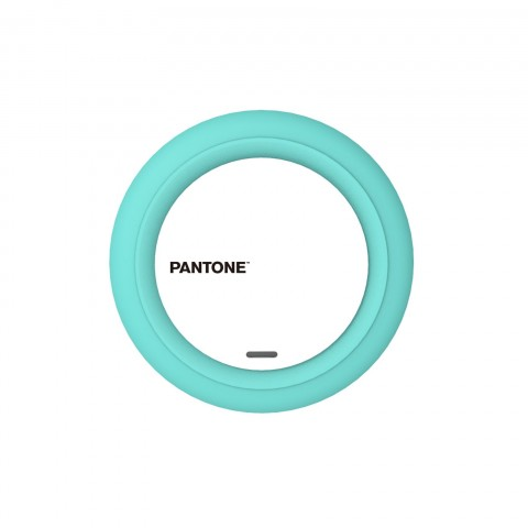 Pantone Qi Wirless Charger Cyan PT-WC001L