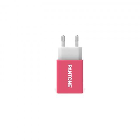 Pantone Wall Charger Pink 2.1A PT-AC1USBP