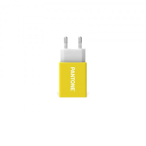 Pantone Wall Charger Yellow 2.1A PT-AC1USBY